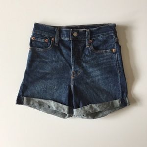 Levi's Shorts - Levi's Wedgie Shorts Cuffed Denim Shorts Size 26